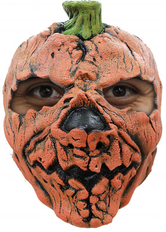 Face Mask - Pumpkin 1