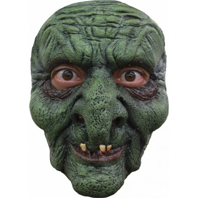 Face Mask - Green Witch