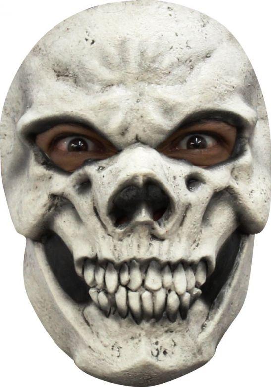 Face Mask - Skull White