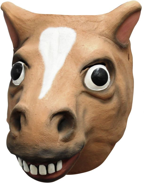 Face Mask - Brown Horse