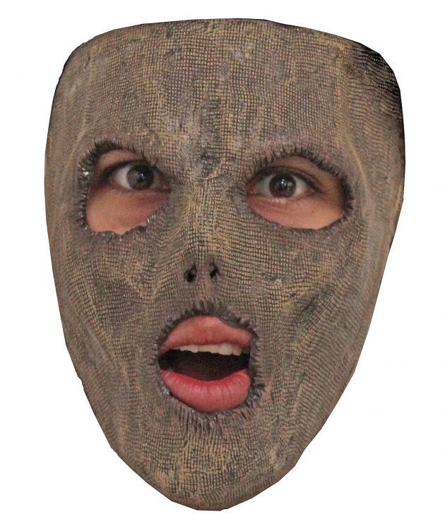 Face Mask - Spooky Scarecrow