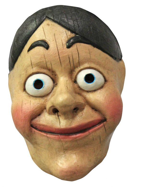 Gezichtsmasker - Wood Puppet / One-size