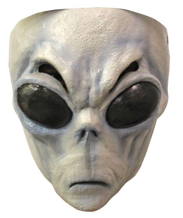 Face Mask - Gray Alien