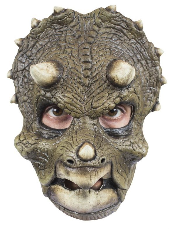 Face Mask - Triceratops