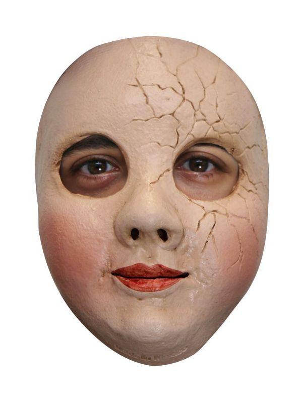 Face Mask - Broken Doll