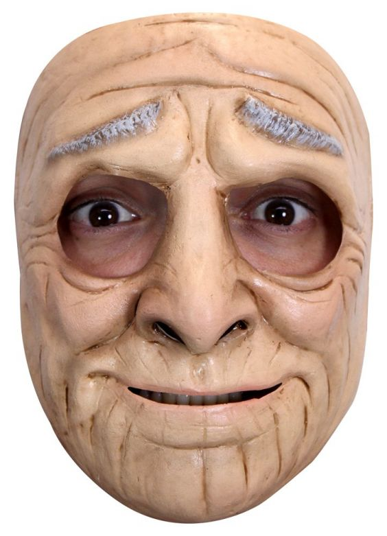 Face Mask - Funny Old Woman