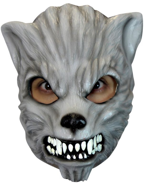 Face Mask - Grey Wolf