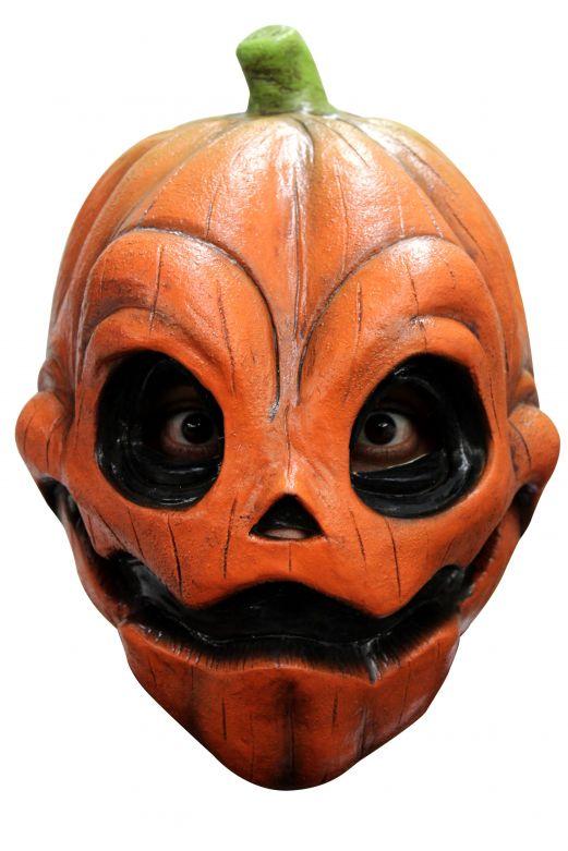 Volledig Hoofdmasker - Smiley Pumpkin / One-size