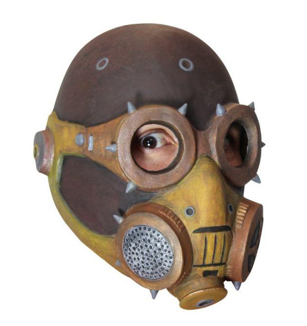 Headmask - Steampunk Gas Mask