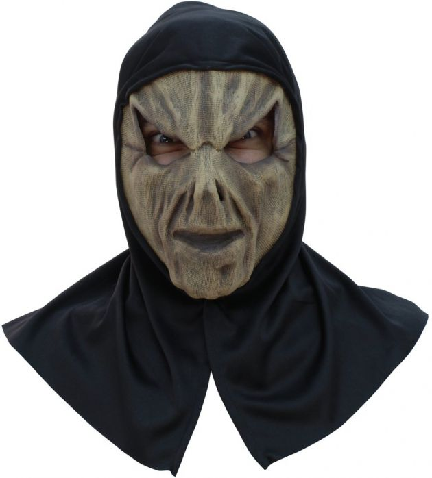 Face Mask with Hood - Scarecrow