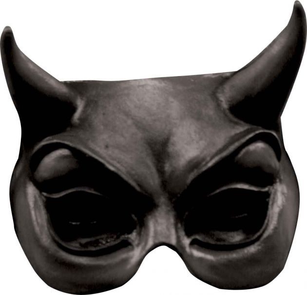 Half Mask - Devil Black