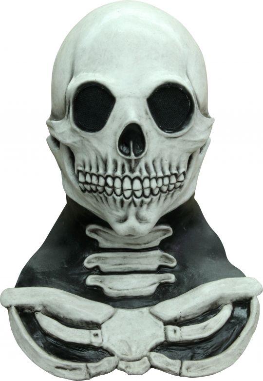 Headmask - Long Neck Skull White
