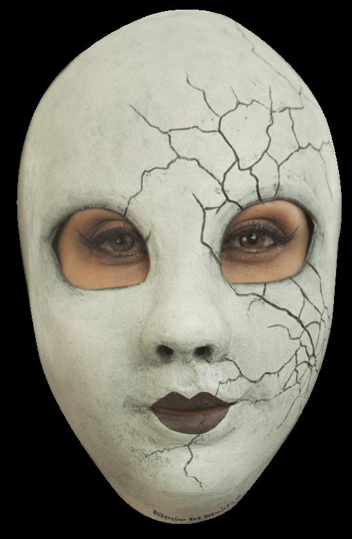 Headmask - Creepy Doll Face