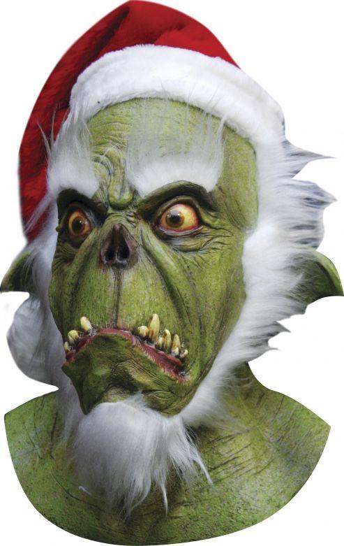 Headmask - Green Santa