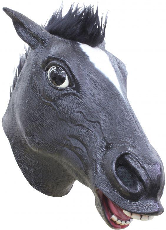 Headmask - Horse Black