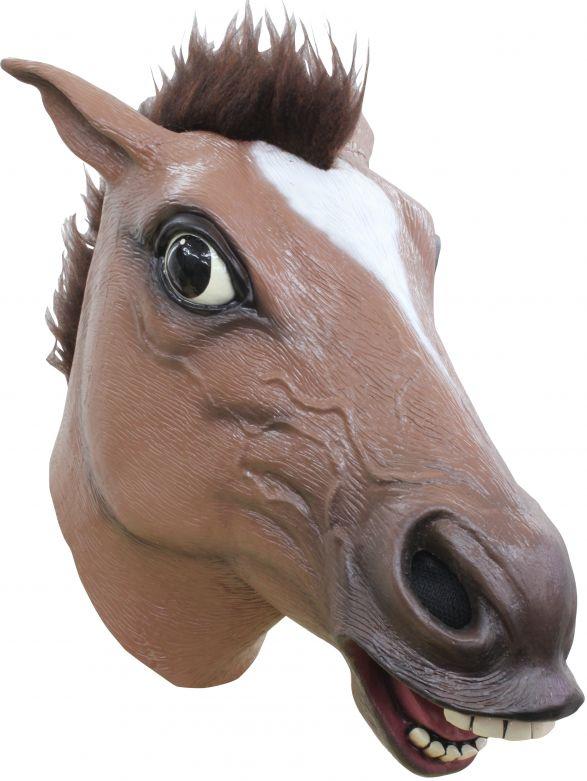 Headmask - Horse Brown