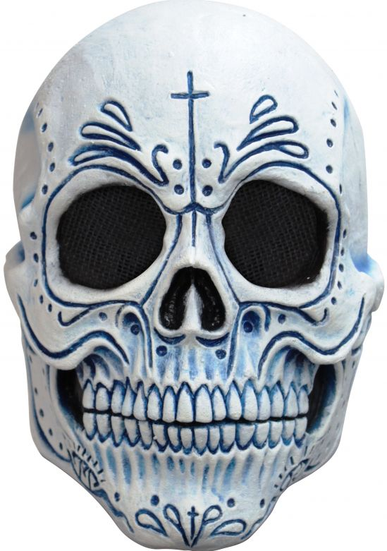 Volledig Hoofdmasker - Mexican Catrin / One-size