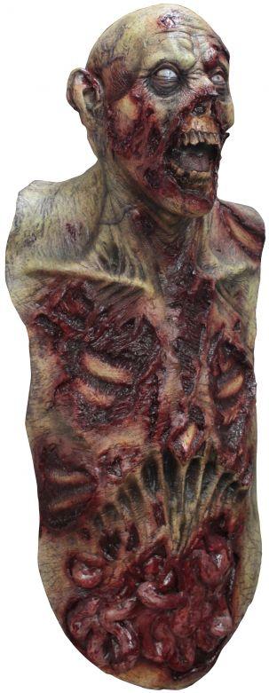 Volledig Hoofdmasker + Body - Mega Zombie / One-size