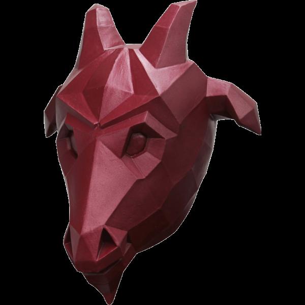Headmask - Low Poly Goat