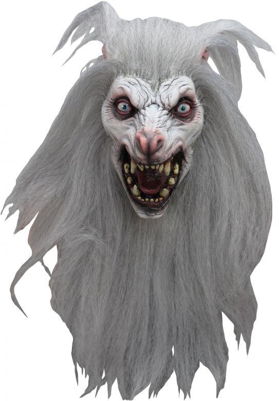 Headmask - White Moon
