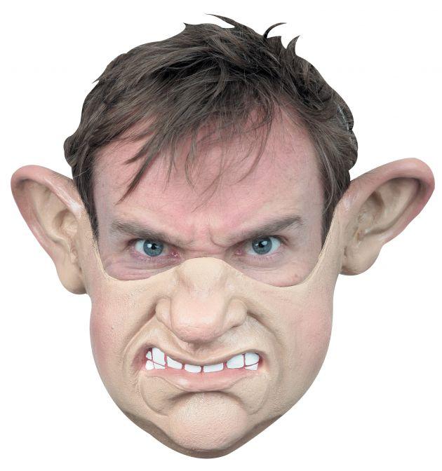 Chin Mask Grumpy