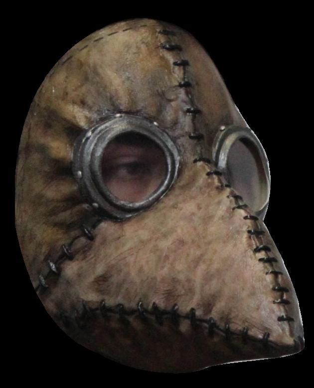 Headmask - Plague Doctor Brown