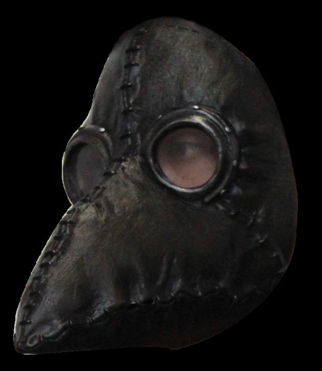 Headmask - Plague Doctor Black