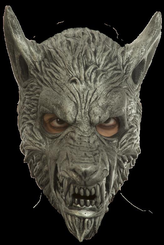 Headmask - Silver Wolf