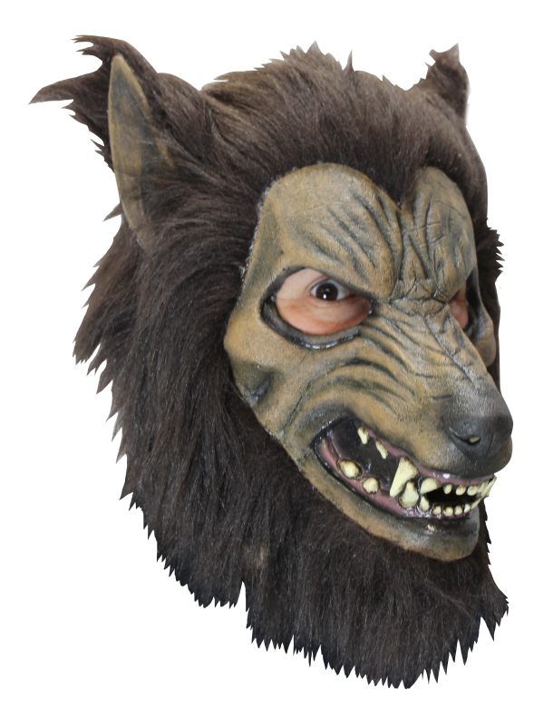 Face Mask with Hair - Bardwulf