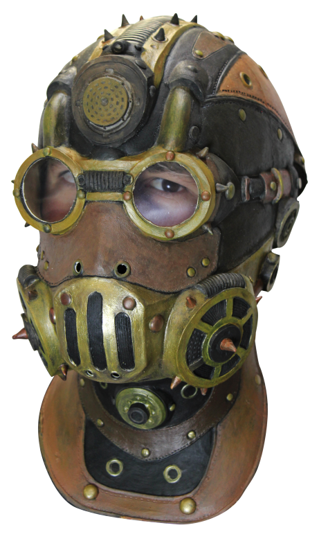 Head Mask - Baron Steampunk