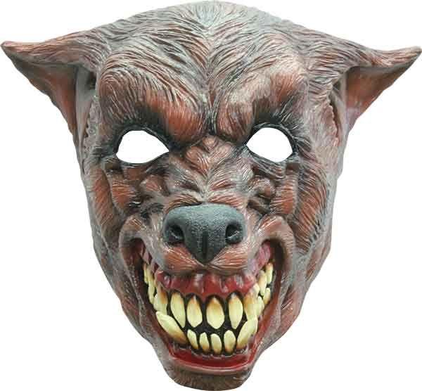 Headmask - Brown Wolf 2