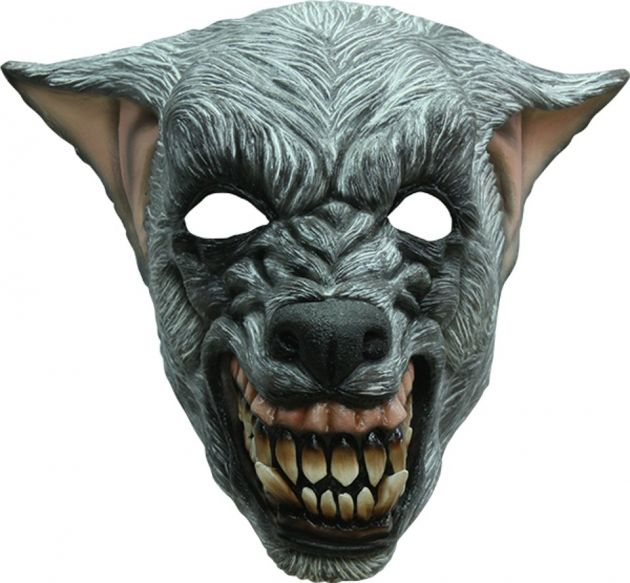 Headmask - Wolf Silver