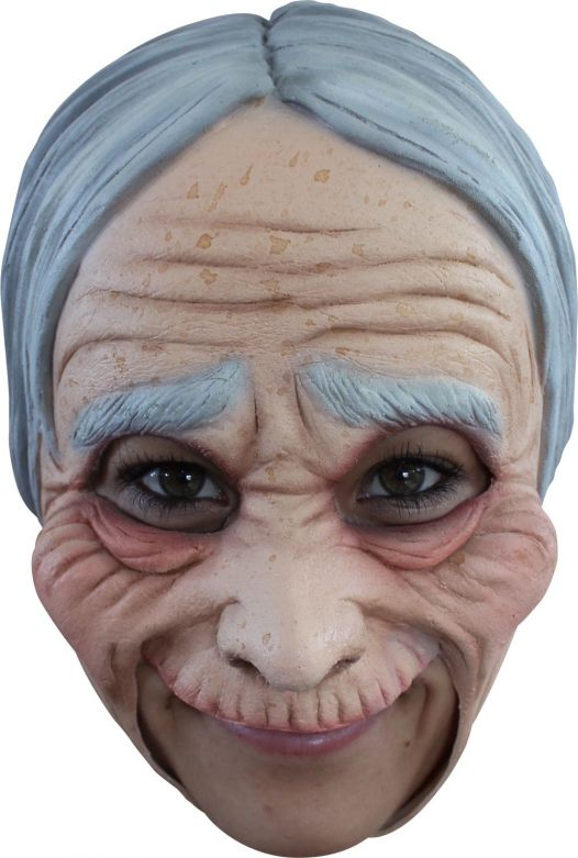 Chinless Mask + Teeth - Old Lady