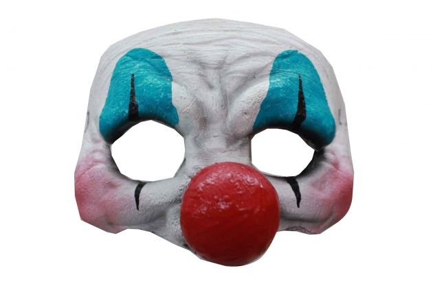 Half Mask - Happy Clown