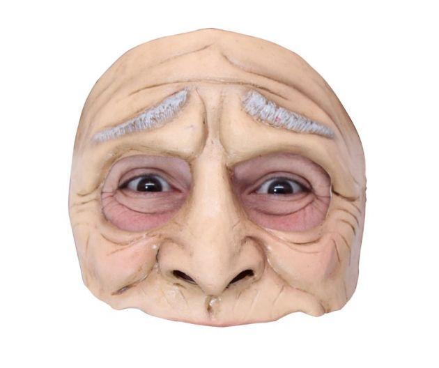 Half Mask - Funny Oldman
