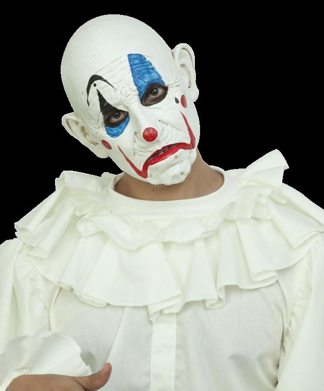 Headmask - Bianco the Clown