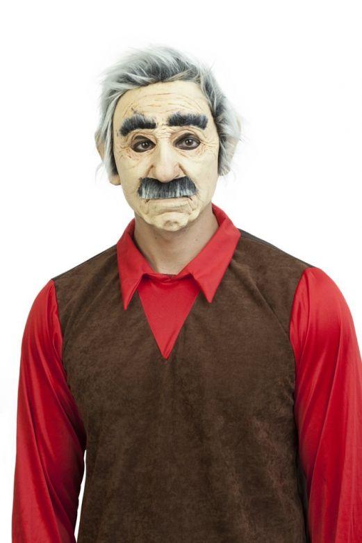 Face Mask with Hair - Cascarrabias