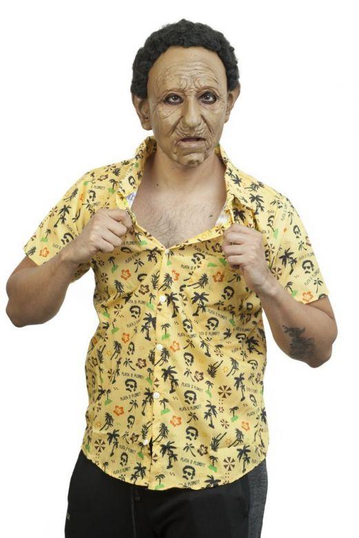 Face Mask with Hair - Cubaanse Joe