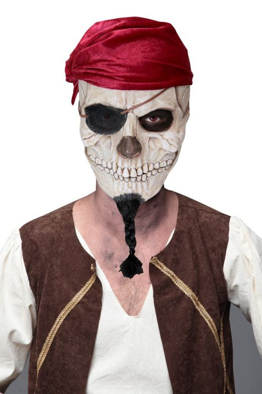 Headmask - Pirate Skull