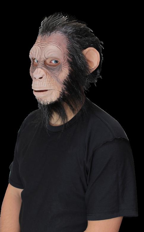 Gezichtsmasker met haar - Julius Hairy Ape / One-size