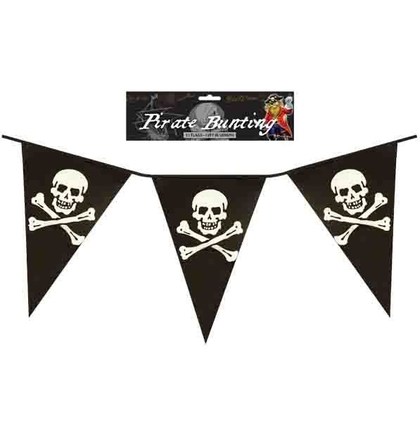 Bunting Pirate 365CM with 11 Flags