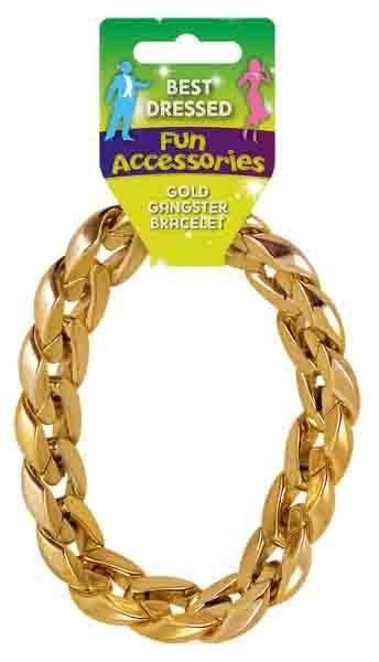 Golden Gangster Bracelet 31CM