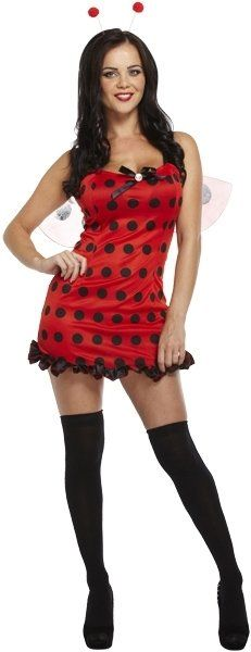 ADULT SEXY LADY BUG one size (ECONOMY) / 3XL
