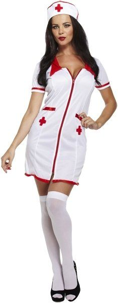 ADULT SEXY NURSE one size (ECONOMY) / 3XL