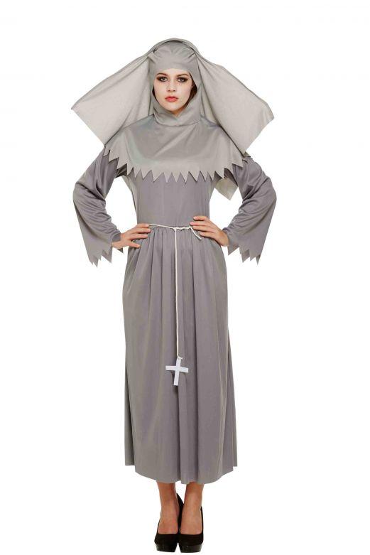 ADULT SPIRIT SISTER NUN one size (ECONOMY)