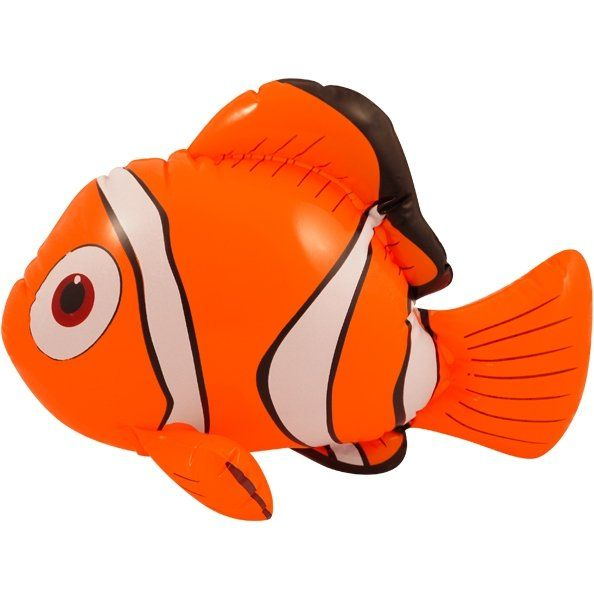 INFLATABLE CLOWN FISH 43CM