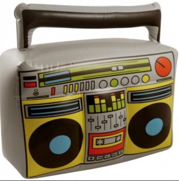 Inflatable Boom Box (44x38 CM)
