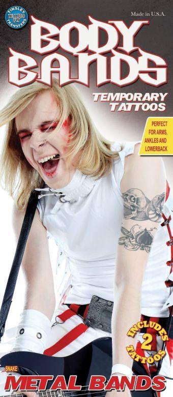 Tattoo Body Bands - Snake