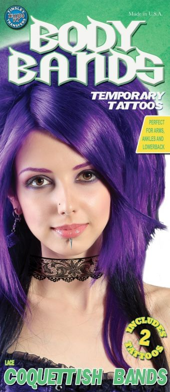 Tattoo Body Bands - Lace