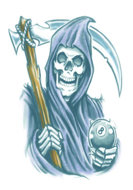Biker Tattoos - Reaper